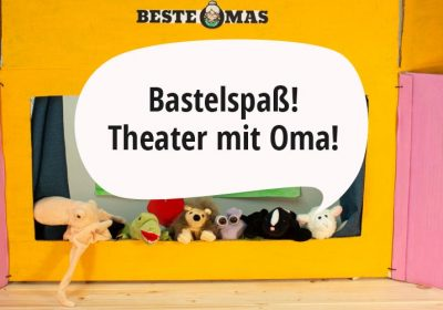 Puppentheater aus Pappe